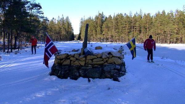 Пограничники запретили прыгать с трамплина из Швеции в Норвегию